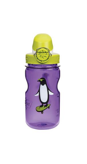 Nalgene Everyday OTF Kids Drikkeflaske 350ml Pinguin gul/violet